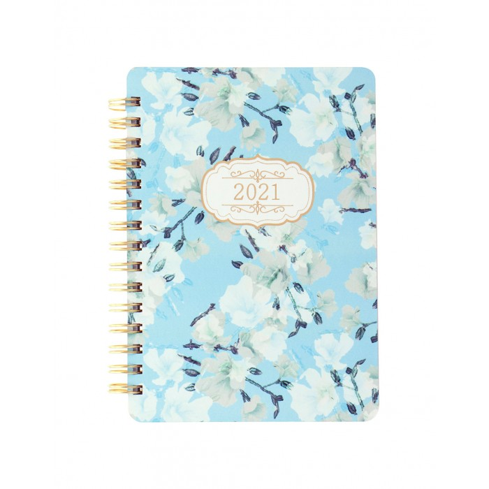 Bloom A6 Week to View Diary 2021