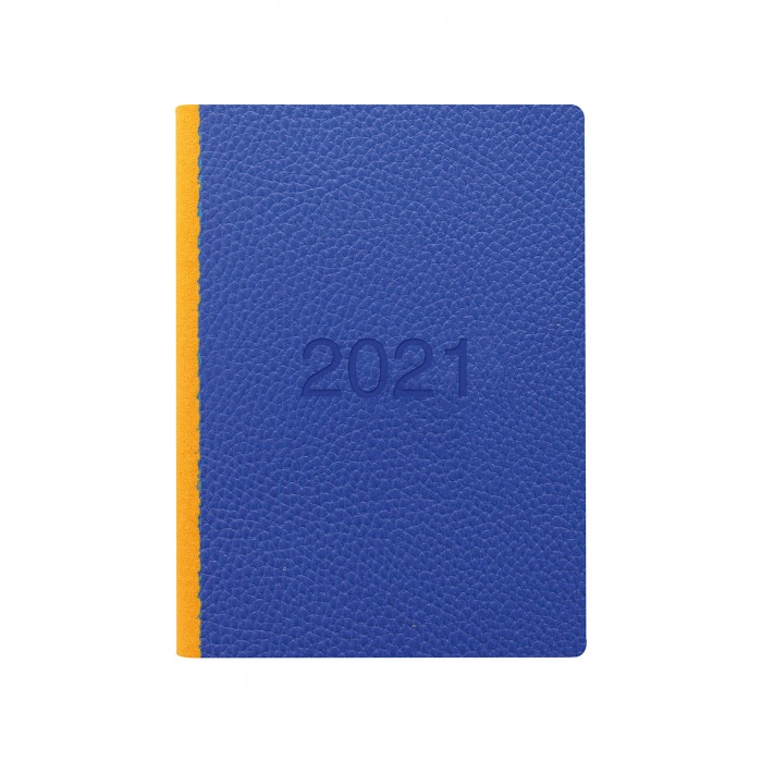 Two Tone A6 Week to View Diary 2021