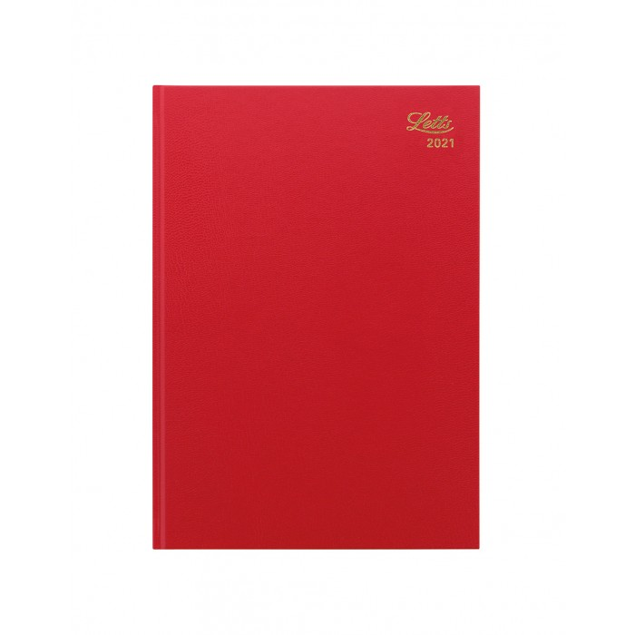 Standard A4 Day to Page Diary 2021